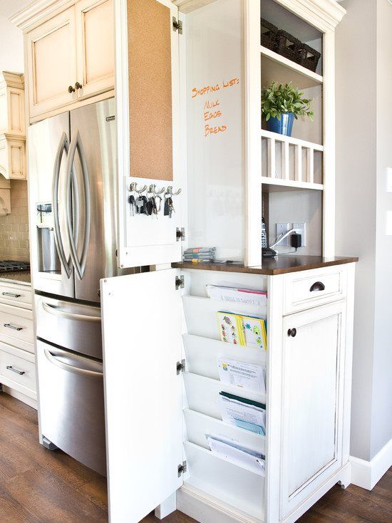 Command Center Mail Organizer On Side Of Kitchen Cabinets For The Home In 2018 Pinterest Design And Storage