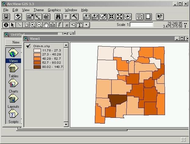 Best Work Images On Pinterest A Student Artwork Ideas And - Map of the us gis r choropleth