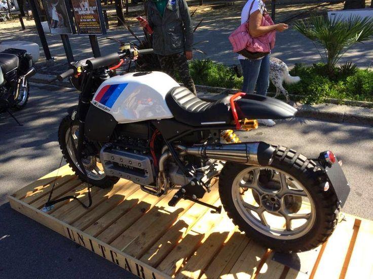 nice k bike scrambler from unit garage everything is