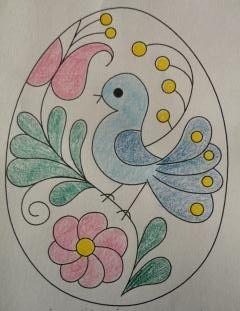Boldog Húsvétot! Happy Easter! Easter Egg Coloring Pages