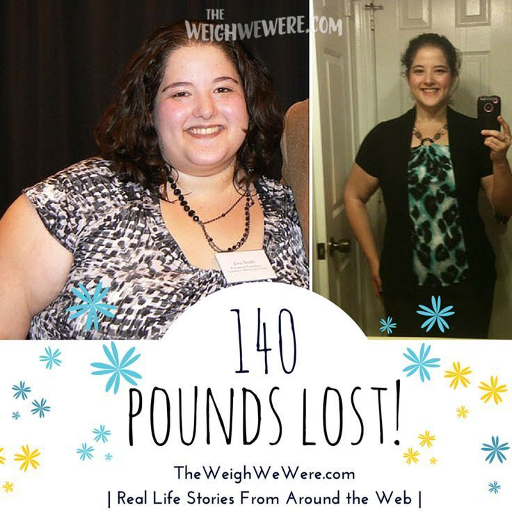 She lost 140 pounds with PCOS.  Read her story...