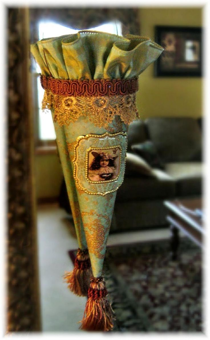 448 best images about victorian cones tussie mussie on for Cardboard cones for crafts