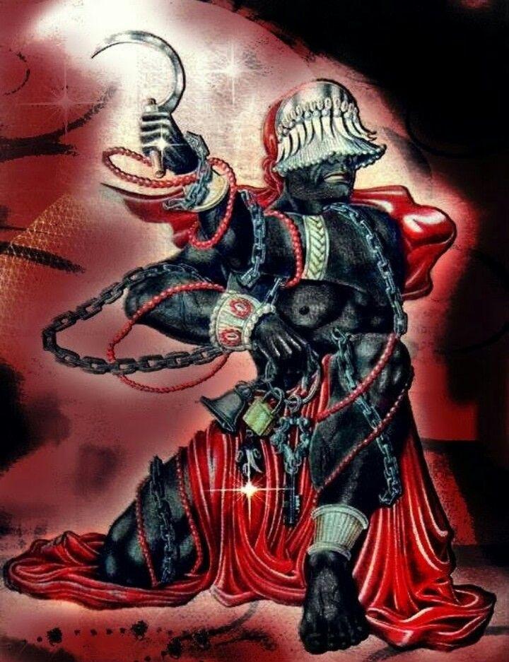 Bará Agelú | Orishas Art | Yoruba religion, African ...