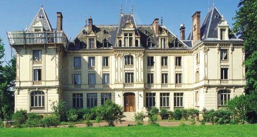 Château de Fontenelle à Chanteloup-en-Brie, Seine-et-Marne, France