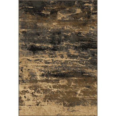 "Trent Austin Design Halewood Sunset Smoke Beige/Brown Area Rug Rug Size: 7'10"" x 10'10"""