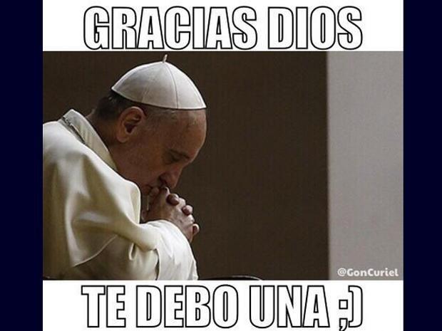 Argentina vs. Suiza: Memes del papa Francisco remecen redes sociales