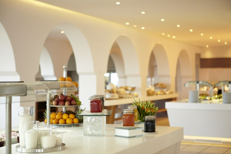 La Terraza's, with its astonishing view is the central breakfast, lunch and dinner restaurant, offering #Greek and International cuisine.