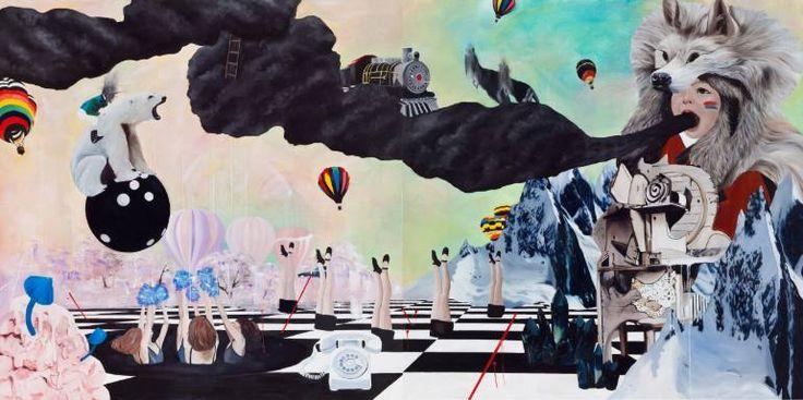 "Saatchi Art Artist Woojung Son; Painting, ""M95"" #art"