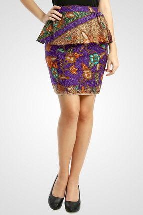Batik Skirt | Jalak Bali Skirt Bottoms | dhievine for Berrybenka.com