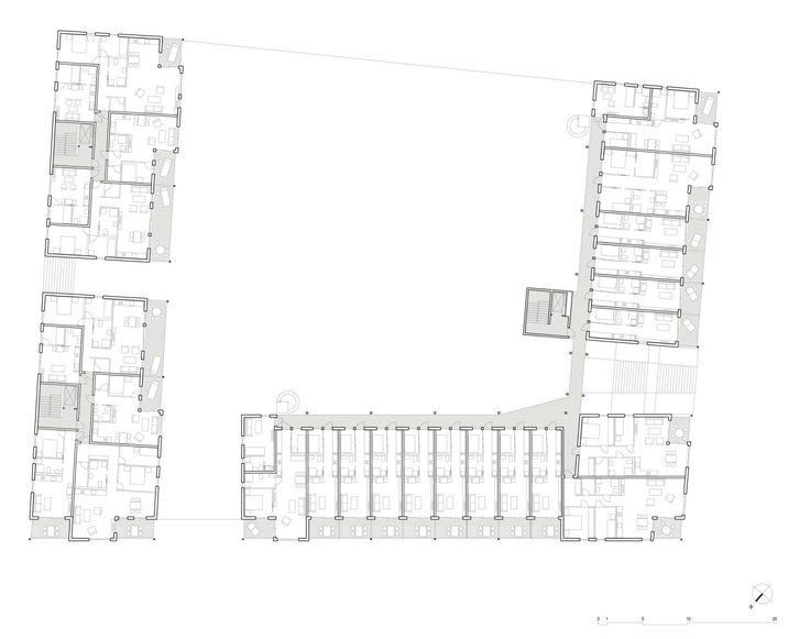 Rosenborg B2 og B3 (2005) – ARC arkitekter