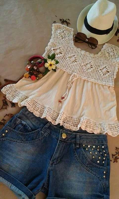 nice dresses for girls [] # # #Dresses #For #Girls, # #Nice #Dresses, # #Crochet #Top, # #Blusas #Tejidas, # #Clothing, # #Tissue