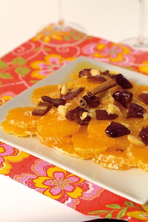 Marockansk citrussallad med dadlar  #ramadan #eidalfitr