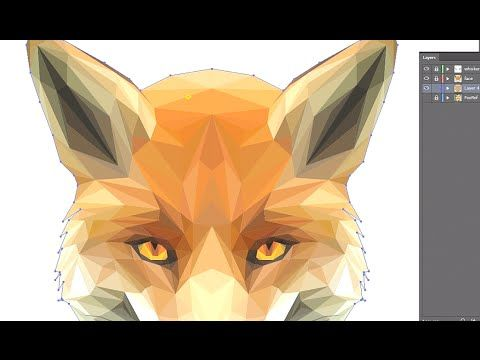 Two Artists at Infinite Design Toronto team up to bring you an awesome tutorial new series. Low poly style image tracing in adobe illustrator. We do a Low po...