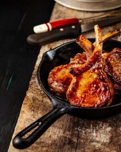 Pork chops, Glazed pork chops and Pork chop recipes on Pinterest