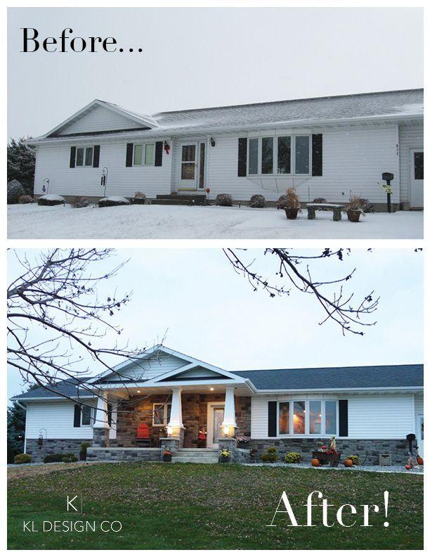 Floor Plans Interior Design Home Decor Ranch House Exterior Exterior House Remodel Home Exterior Makeover
