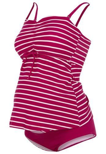 Boob fast food costume da bagno stripe magenta rosa  ad Euro 75.00 in #Boob #Donna sports abbigliamento sportivo