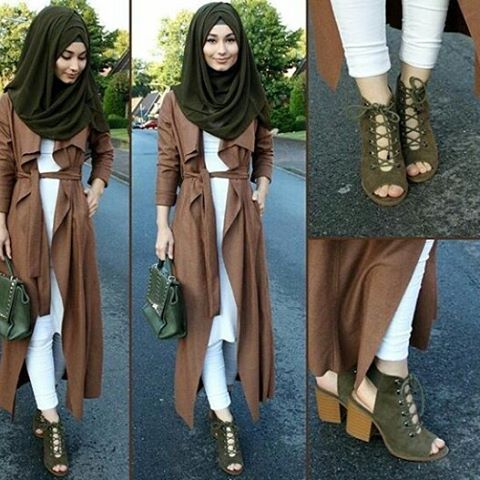 #ootd#simple#chic#hijab#elegant#classy#lovely#jacket#khaki#scarf#gorgeous#shoes#pretty#outfit#hijabstyle#beautiful#muslimah#lifestyle#awsome#sweet#look#hijabfashion#styling#hijab#everyday#cool#instalike#instafollow#hijabness19#beauty#forever @hijabness19 ========>> by @hijab_is_my_diamond_official