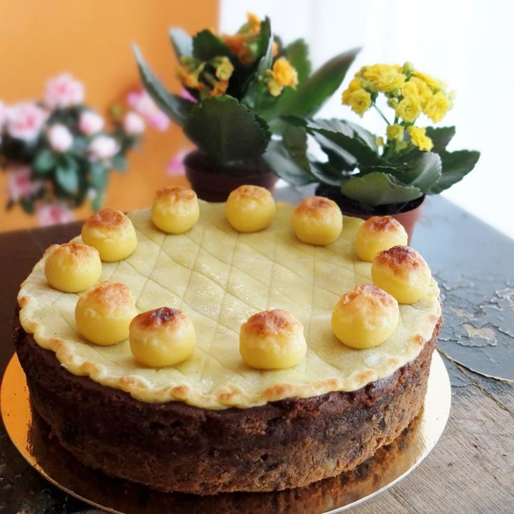 Tropical Easter Simnel cake recipe with Guinness (or rum) - lili's cakes