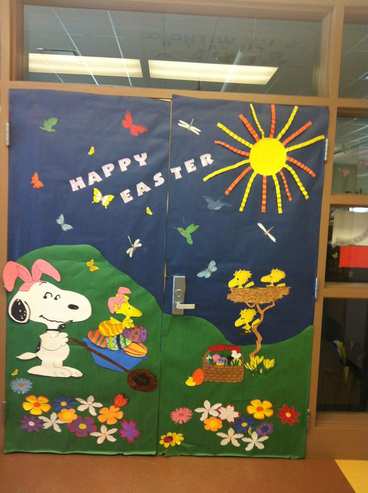 Easter Classroom Decor : Best images about easter door ideas on pinterest