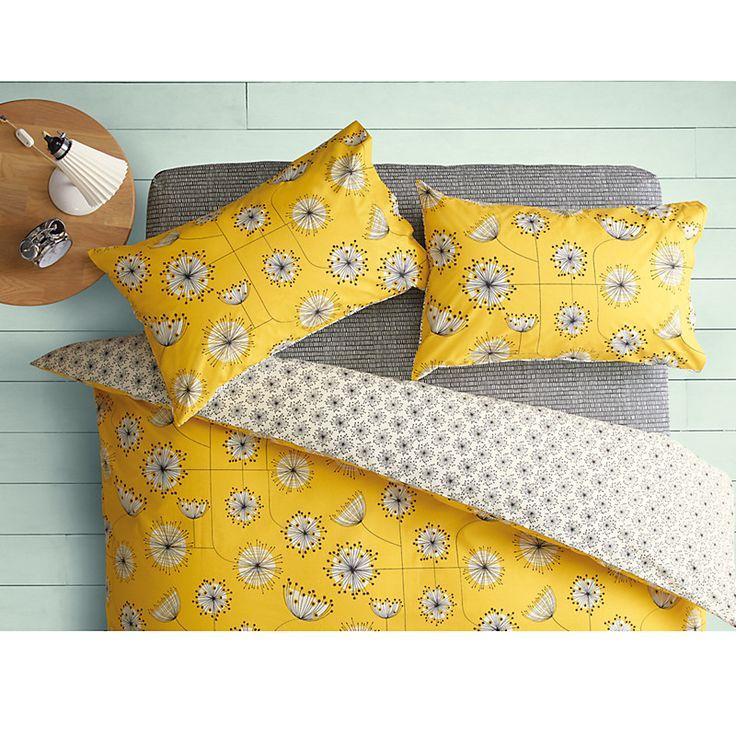 Dandelion Bed Linen John Lewis Yellow Duvet Duvet