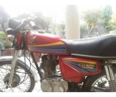 Honda 125 for sale in good hands with good amount