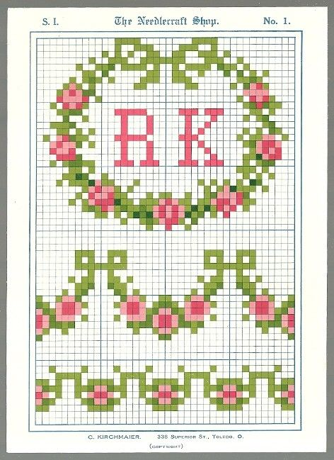 Sentimental Baby: Vintage Christmas Cross Stitch Patterns