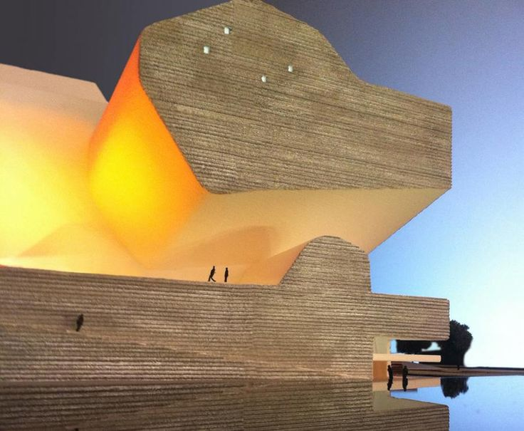 Tianjin Ecologyand Planning Museum by Steven Holl Architects, in the new city being constructed near Tianjin, China.   The Ecology and Planning Museums will be 600,000 square feet. Will