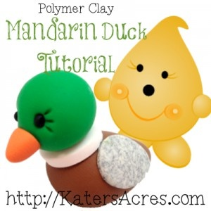 Polymer Clay Mandarin Duck Tutorial by KatersAcres