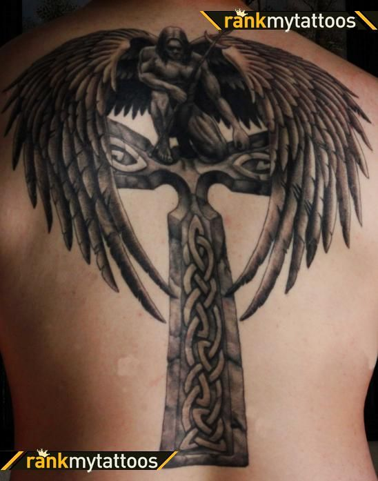 80 Best Angel Tattoos Images On Pinterest