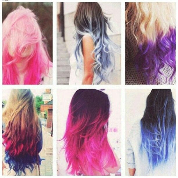 31 best contemporary hair color images on Pinterest | Colourful hair ...
