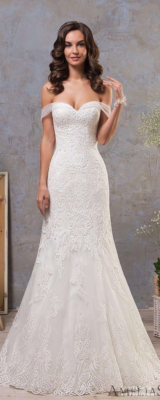 Amelia Sposa 2019 Wedding Dress #weddings #dresses #weddingdresses #bridaldresse…