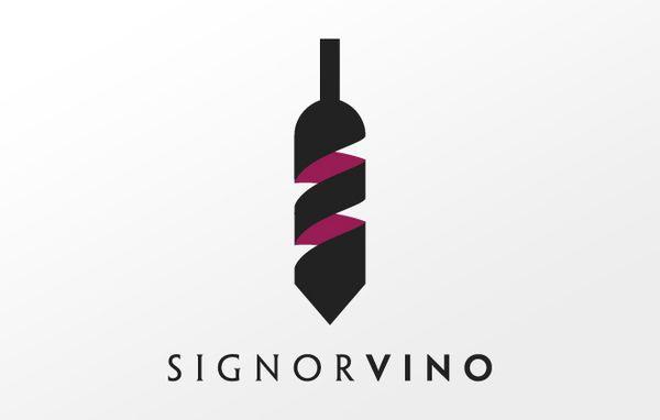 """Signorvino"" Logo."