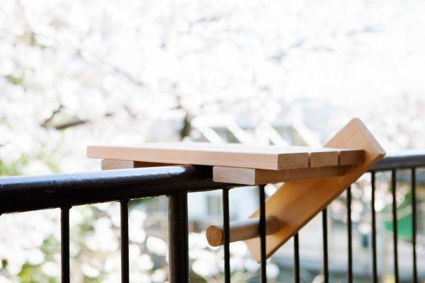 mini portable table for small balcony dining