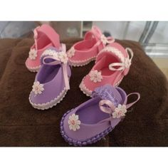 zapatitos de fomi para baby shower - Buscar con Google