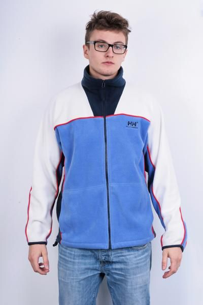 Perfect Helly Hansen Mens M Fleece Top Jacket Sport Jumper Winter - RetrospectClothes