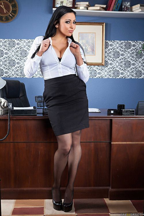 Audrey Bitoni As The Sexy Secretary Office Busty