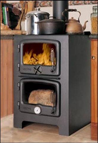 Vermont Bun Baker Wood Burning Oven Cast Iron