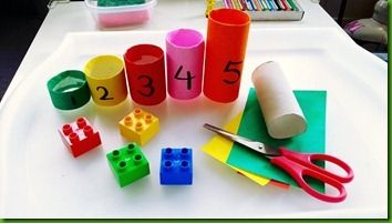 Duplo counting tube