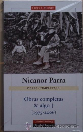 Hoy celebramos y leemos los 98 años de Nicanor Parra.