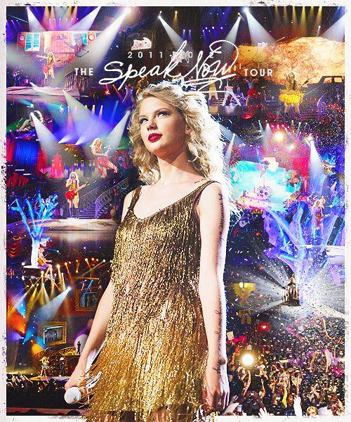 Taylor Swift: Speak Now Tour 2011-2012 ♥