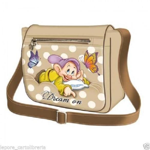 Borsa tracolla Sette 7 Nani ecopelle CUCCIOLO DREAM ON - Disney