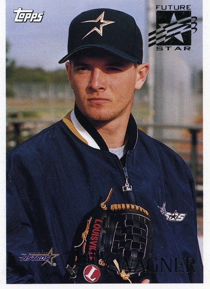 ROOKIE 1996 TOPPS FUTURE STAR BILLY WAGNER HOUSTON ASTROS MINT #HoustonAstros