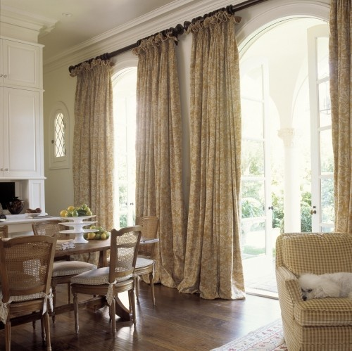 95 best drapery pleats images on pinterest window for Casual dining room curtain ideas
