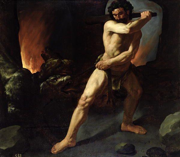 Hercules and Cerberus - Zubaran