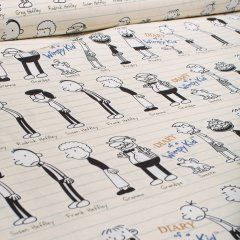 Baumwolle - Diary of a Wimpy Kid - Greg - Robert Kaufman - USA Designer - beige