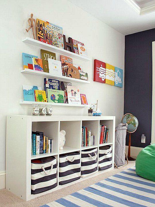 Kallax, inspiración para las habitaciones infantiles | Decoideas.Net