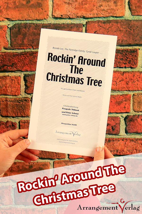 Rockin around the christmas tree für gemischten Chor ✓ Fetziger ...