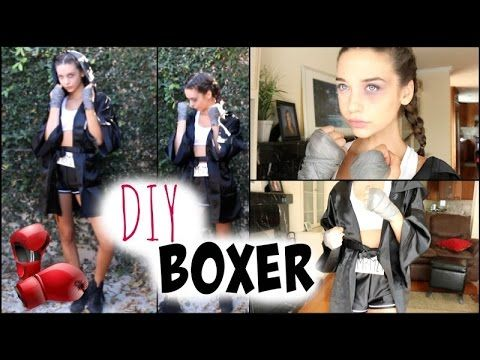 DIY Boxer Halloween Tutorial! ♡ - MakeupbyMandy24