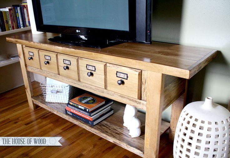 build your own tv stand plans design woodworking. Black Bedroom Furniture Sets. Home Design Ideas