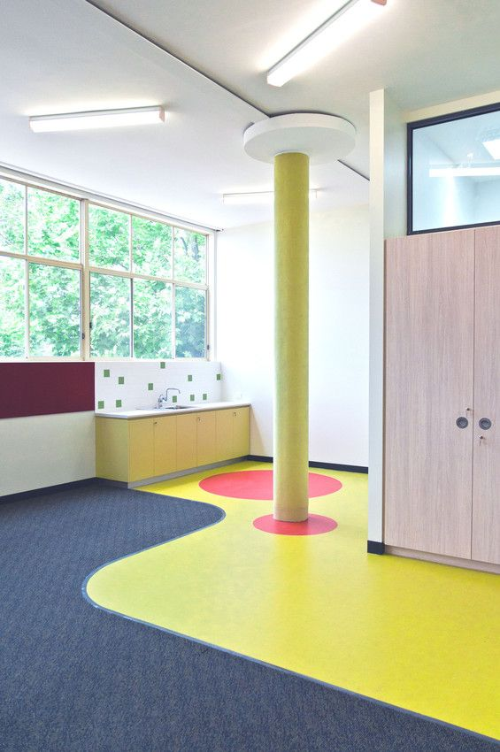 Mipolam Symbioz for Penleigh and Essendon Grammar School After Care Australia #flooring #healthcare